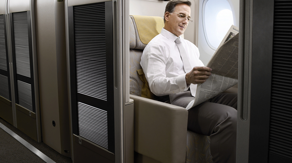 Asiana Airlines - First Class Suites