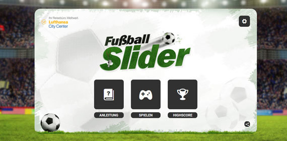 LCC Fussball Slider